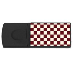 Pattern Background Texture Rectangular USB Flash Drive
