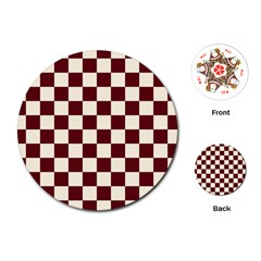 Pattern Background Texture Playing Cards (Round)