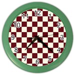 Pattern Background Texture Color Wall Clocks Front