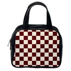 Pattern Background Texture Classic Handbags (One Side)