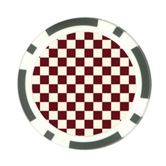 Pattern Background Texture Poker Chip Card Guard (10 pack)