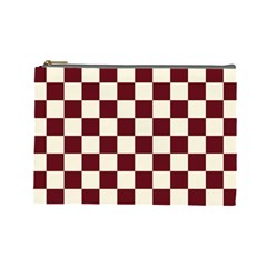 Pattern Background Texture Cosmetic Bag (Large)