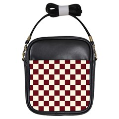 Pattern Background Texture Girls Sling Bags