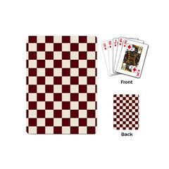Pattern Background Texture Playing Cards (Mini)