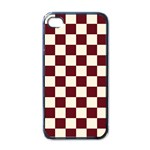 Pattern Background Texture Apple iPhone 4 Case (Black) Front