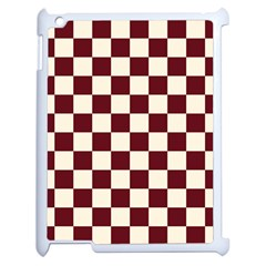 Pattern Background Texture Apple iPad 2 Case (White)