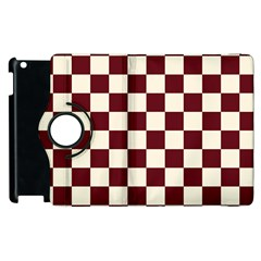 Pattern Background Texture Apple iPad 3/4 Flip 360 Case
