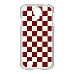 Pattern Background Texture Samsung GALAXY S4 I9500/ I9505 Case (White)