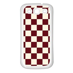Pattern Background Texture Samsung Galaxy S3 Back Case (White)