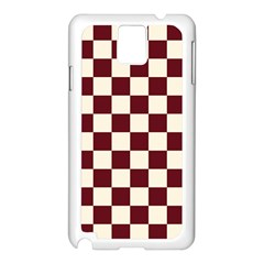 Pattern Background Texture Samsung Galaxy Note 3 N9005 Case (White)