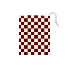 Pattern Background Texture Drawstring Pouches (Small)