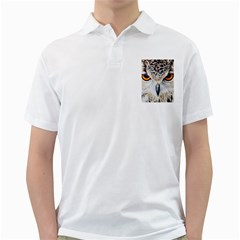 Owl Face Golf Shirts
