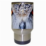 Owl Face Travel Mugs (White) Center