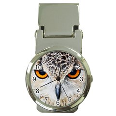 Owl Face Money Clip Watches by Sapixe