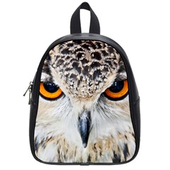 Owl Face School Bag (small)
