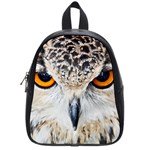 Owl Face School Bag (Small) Front