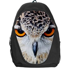 Owl Face Backpack Bag by Sapixe