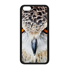Owl Face Apple Iphone 5c Seamless Case (black)