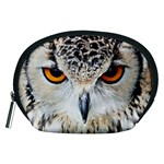Owl Face Accessory Pouches (Medium)  Front