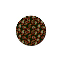 Pattern Abstract Paisley Swirls Golf Ball Marker (10 Pack)