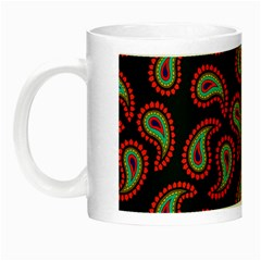 Pattern Abstract Paisley Swirls Night Luminous Mugs