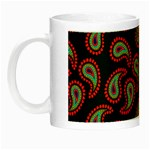 Pattern Abstract Paisley Swirls Night Luminous Mugs Left