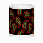 Pattern Abstract Paisley Swirls Night Luminous Mugs Center