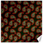 Pattern Abstract Paisley Swirls Canvas 12  x 12   12 x12  Canvas - 1
