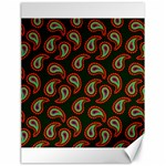 Pattern Abstract Paisley Swirls Canvas 18  x 24   24 x18  Canvas - 1