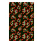 Pattern Abstract Paisley Swirls Shower Curtain 48  x 72  (Small)  42.18 x64.8  Curtain