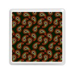 Pattern Abstract Paisley Swirls Memory Card Reader (Square)  Front
