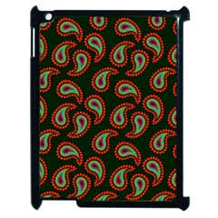 Pattern Abstract Paisley Swirls Apple Ipad 2 Case (black) by Sapixe