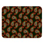 Pattern Abstract Paisley Swirls Double Sided Flano Blanket (Large)   Blanket Back