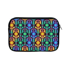 Pattern Background Bright Blue Apple Ipad Mini Zipper Cases by Sapixe