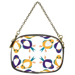 Pattern Circular Birds Chain Purses (One Side)