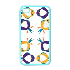 Pattern Circular Birds Apple Iphone 4 Case (color) by Sapixe
