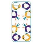 Pattern Circular Birds Apple Seamless iPhone 5 Case (Color) Front