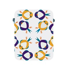 Pattern Circular Birds Apple iPad 2/3/4 Protective Soft Cases