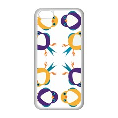 Pattern Circular Birds Apple Iphone 5c Seamless Case (white) by Sapixe