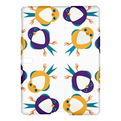 Pattern Circular Birds Samsung Galaxy Tab S (10 5 ) Hardshell Case  by Sapixe