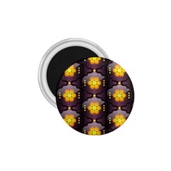 Pattern Background Yellow Bright 1.75  Magnets