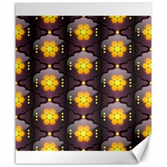 Pattern Background Yellow Bright Canvas 20  x 24