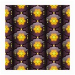 Pattern Background Yellow Bright Medium Glasses Cloth (2-Side) Back