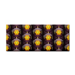 Pattern Background Yellow Bright Cosmetic Storage Cases