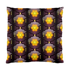 Pattern Background Yellow Bright Standard Cushion Case (Two Sides)