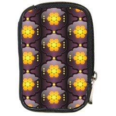 Pattern Background Yellow Bright Compact Camera Cases