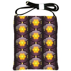 Pattern Background Yellow Bright Shoulder Sling Bags
