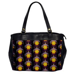 Pattern Background Yellow Bright Office Handbags
