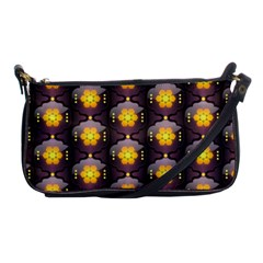 Pattern Background Yellow Bright Shoulder Clutch Bags