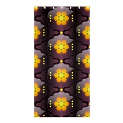 Pattern Background Yellow Bright Shower Curtain 36  x 72  (Stall)